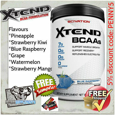 Scivation Xtend 90 Serves - Amino Acid | Bcaa | Intra Workout | Xtend | Ehp Bcaa