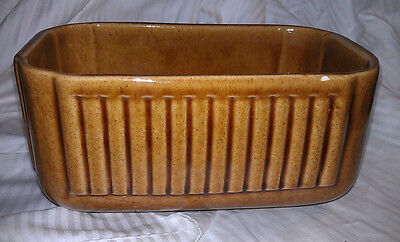 Vintage Haeger #225 Brown Planter