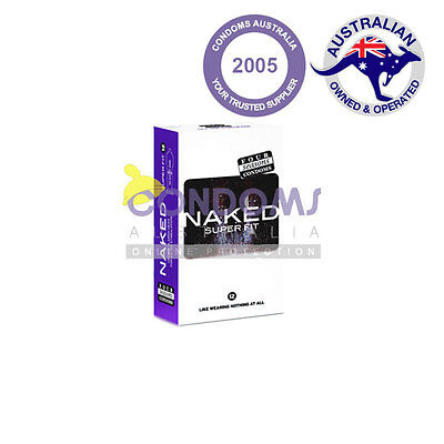 Four Seasons Naked Super Fit Condom (100 Condoms)