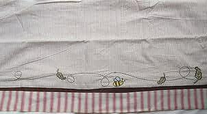 Disney Baby A Bear Named Pooh Valance Winnie the Pooh Bumble Bee Brown Red