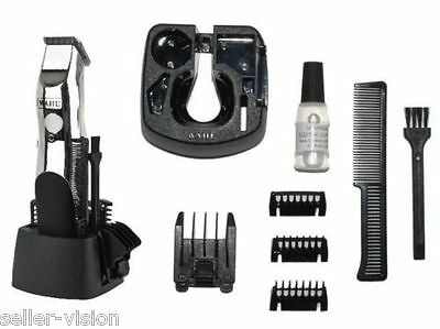 Wahl Mens Rechargeable Cordless Hair & Beard Trimmers Shaver Clipper Cut Face