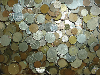 World Coins Mix Bulk Lots 1kg