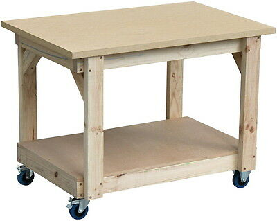 Mobile work bench 1200 x 800mm