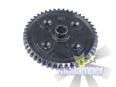 Hard Steel Spur Main Gear 46T Kyosho 1/8 Inferno Neo Gt2 Ve Center Differential