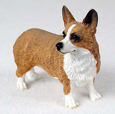 Welsh Corgi Pembroke Hand Painted Collectible Dog Figurine