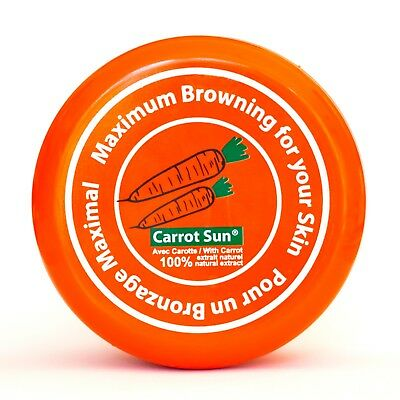 Carrot Sun Tan Accelerator Tanning Cream with Carrot Oil,  L-Tyrosine, and Henna