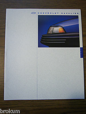 Mint 1994 Chevrolet Chevy Cavalier Sales Brochure 23 Pages New (Box 420)