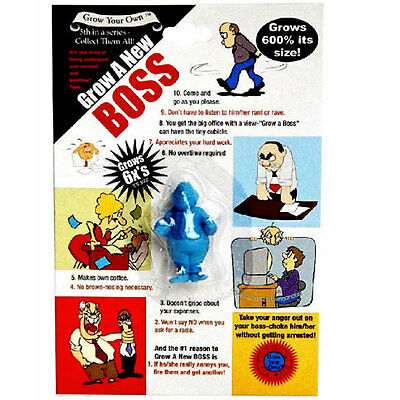 Grow a New Boss! MALE Novelty Funny Gift