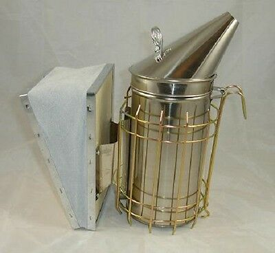 Beekeeping Smoker - Beehive Smoker - Bee Puffer With 6X Smoker Cartridges