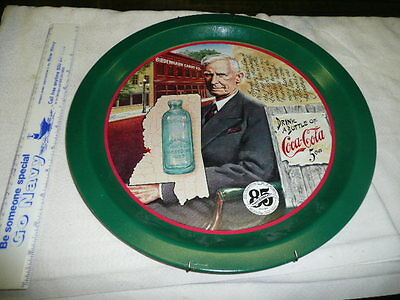 Coca Cola Tray 85th Anniversary of first bottling of Coca Cola in Vicksburg, MS