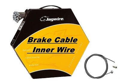 JAGWIRE Inner Bike Brake Cable Wire Galvanised, Stainless, Slick, Pro - Barrel
