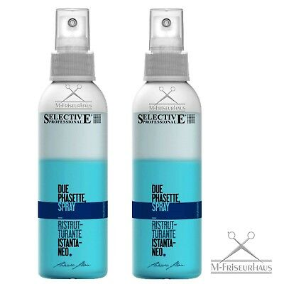 (€33,30/1L) 2 x 150ml SELECTIVE PROTEK DUE PHASETTE =300ml *neue Rezeptur+Pumpe*