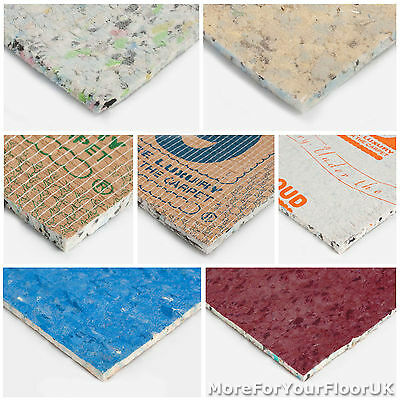 Quality Carpet Underlay Rolls, Brand New Thick Luxury PU Foam Flooring CHEAP