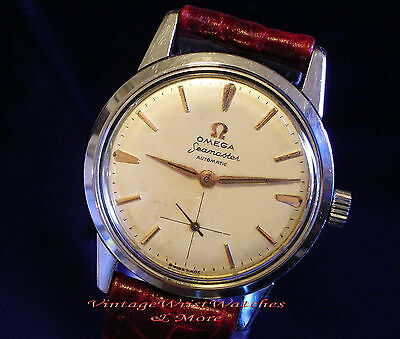 Orologio   OMEGA   Seamaster  Automatic cal.491 -Exellent. 1954 - Vintage Watch