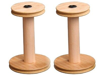 BOBBIN for Ashford Spinning Wheel - suit Traditional Traveller scotch w/w Pair