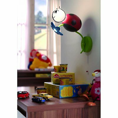 Childrens Ladybird Novelty Wall Light Low Energy & LED Kico - 45557/55/10