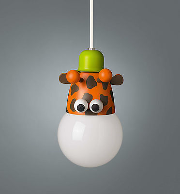 Childrens Novelty Giraf Ceiling Light Pendant - 18W Low Energy 40590/55/10