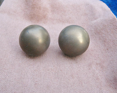 Vintage Cabinet Drawer Pulls Handle Knob Hardware 2 Distressed Metal Ball 1 1/2""