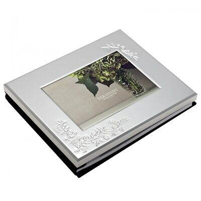 """Vera Wang BY Wedgwood Lace Bouquet Photo Guest Book 5""""x7"""""""