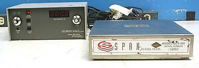 Span Scale GCS-300 With CS-350A Readout Semi Gas