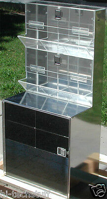 Stainless Steel Cleanroom, Lab, Supply Storage Cabinet 38 x 18 x12