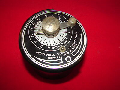 Itc/industrial Timer Company Td-15S Second Timer 5W 220V ***xlnt***