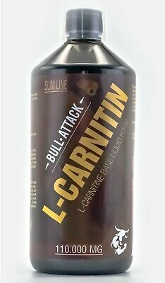 2000ml =2L L-Carnitin Liquid 110.000mg Stärkstes Carnitine Diät Fettverbrennung