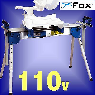 FOX F50-177A 110v Universal Workstation mitre saw table bench stand 3Yr Warranty