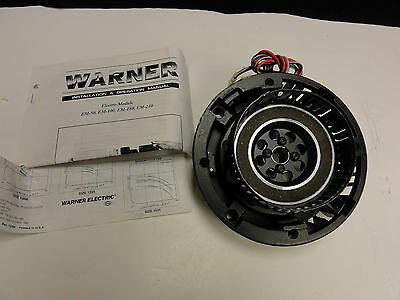 New Warner Electric Em-50-10 Motor Clutch Em5010