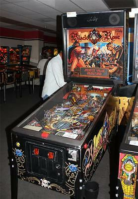 """BLACK ROSE Pinball Machine - Bally 1992 - """"This Game is Loaded!"""""""