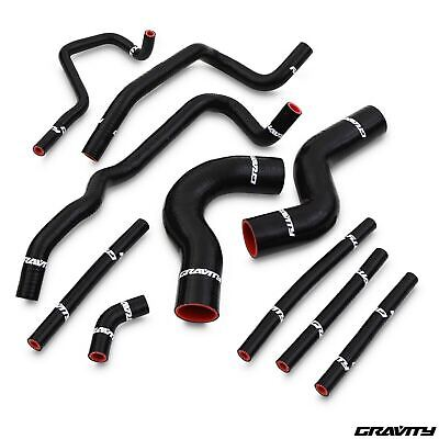 10Pc Silicone Radiator Cooling Rad Hose Kit For Subaru Impreza Gc8 Wrx Sti 92-95