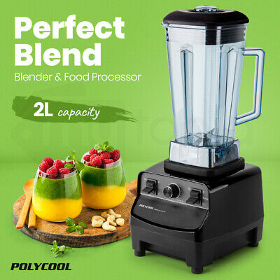 NEW Commercial Blender Mixer Juicer Food Processor Smoothie Ice Crush POLYCOOL