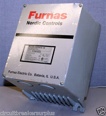 Furnas 91DB3200A Dual Ramp Induction Motor Controller