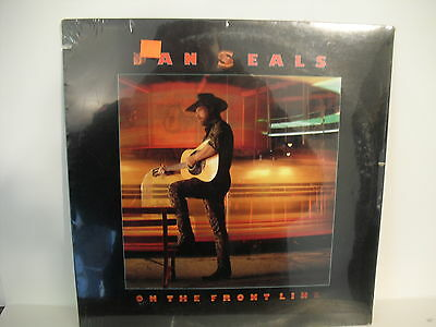 Dan Seals, On The Front Line, 1986, EMI Records, SEALED