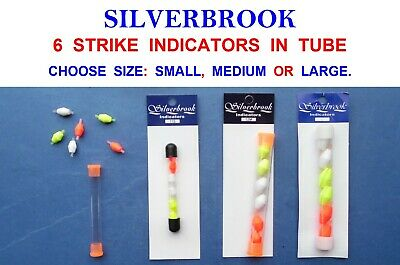 Silverbrook Strike Bite Indicators Game Fly Fishing Tackle Trout Salmon Floats