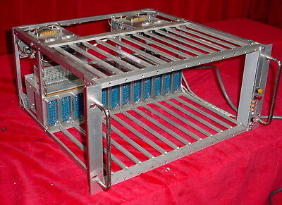 Power Designs  NIM BIN Crate 12-Slot Chassis & Power Supply AEC-320-5