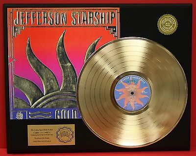 Jefferson Starship - Gold - 24k Gold LP Record Limited Edition - USA Ships Free