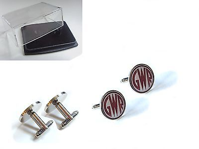 Gwr Great Western Railways Br Badge Mens Cufflinks Gift