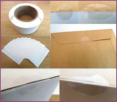 Gloss Clear Transparent Seal Labels , Standard Permanent Self-Adhesive Stickers