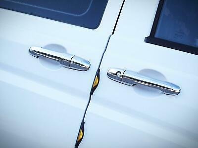 Chrome Stainless Steel 4 Door Handle Covers 4 Handles for Mercedes Vito (04-14)