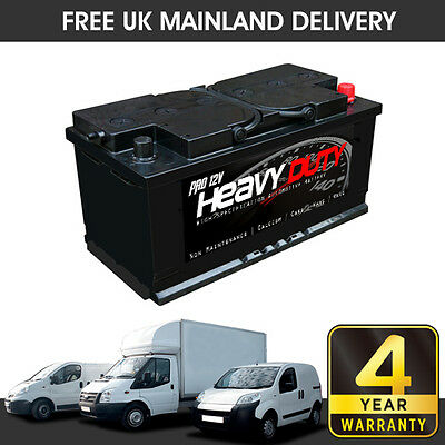 HEAVY DUTY PRO 12V  VAN BATTERY   100 Ah   850 CCA   4 Yr Warranty