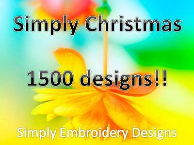 Simply Christmas/Holiday Designs/DST EXP HUS JEF PES VIP VP3 XXX
