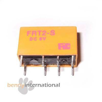 3x 6V RELAY FRT2-S DPDT DIL Mini - AUS STOCK