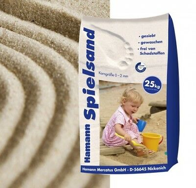 (0,30€/1kg) 25 kg Spielsand Classic Sack