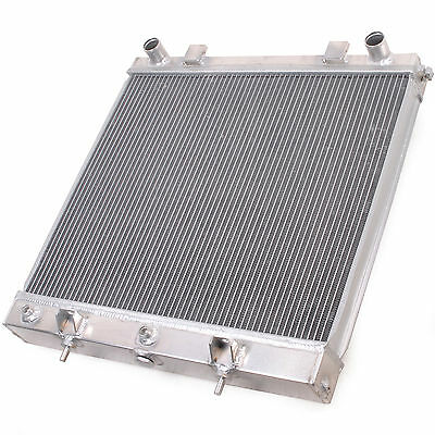 55Mm Twin Core Alloy Sport Radiator For Land Rover Range Rover P38 2.5Td Diesel