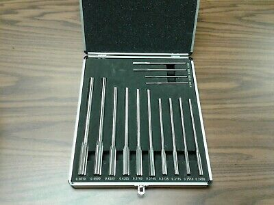14pc/set Chucking Reamers, Over & Under Sizes HSS--New