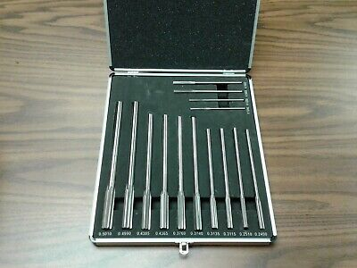 14pc/set Chucking Reamers, Over & Under Sizes HSS #515-14--New