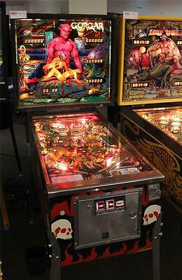 GORGAR Pinball Machine - Williams 1979 - First Talking Pinball Machine!