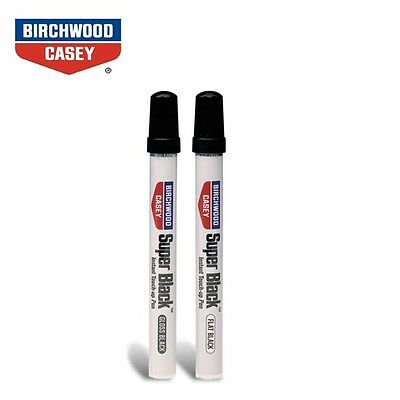 Birchwood Casey SUPER BLACK GLOSS / MATT Touch Up Bluing Pen