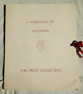 A Portfolio of Paintings.  The Frick Collection.  Charles Ryskamp, 1989